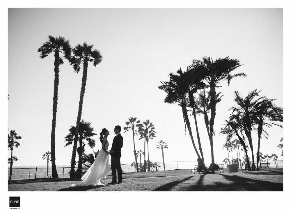 LA海外婚紗拍攝海灘