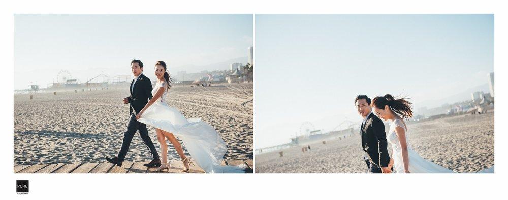 PUREFOTO_海外婚紗攝影Oversea_Prewedding_SantaMonica海外婚紗拍攝