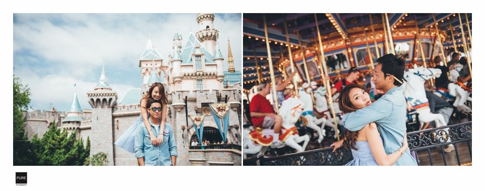 PUREFOTO_海外婚紗攝影Oversea_Prewedding_迪士尼樂園 婚紗拍攝
