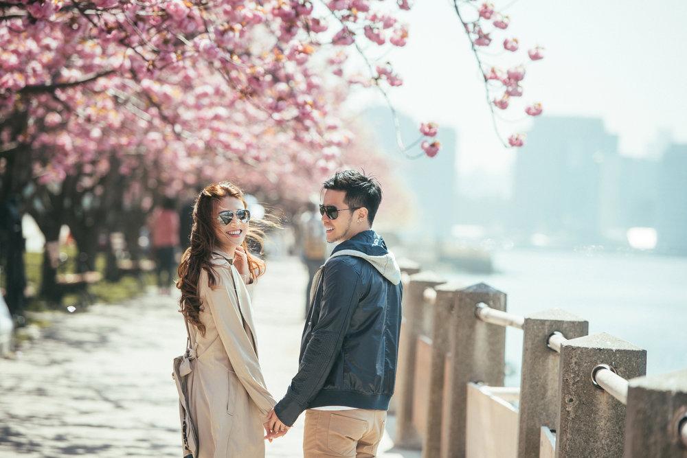 紐約春季海外婚紗拍攝