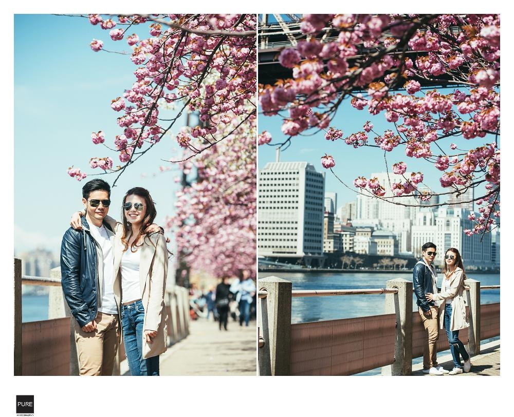 紐約春天婚紗拍攝