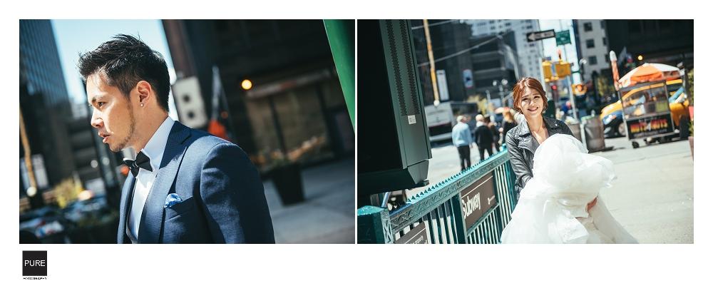 紐約海外婚紗側拍