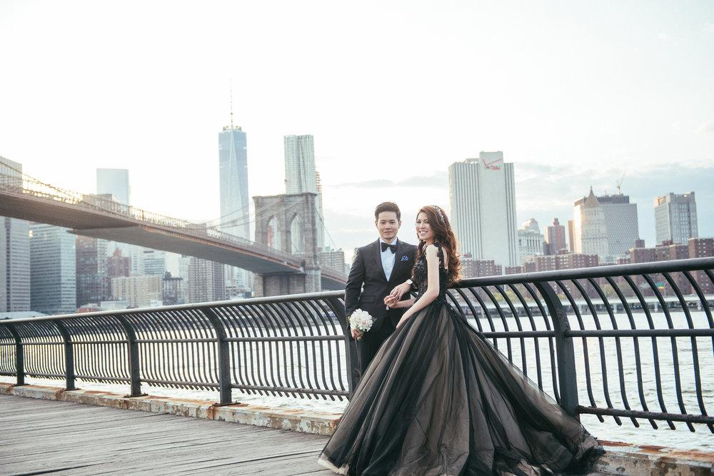 紐約布魯克林婚紗