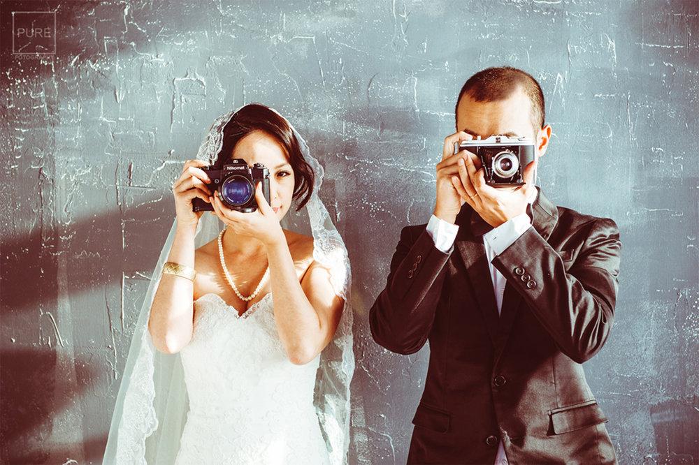 PUREFOTO自助婚紗拍攝方案