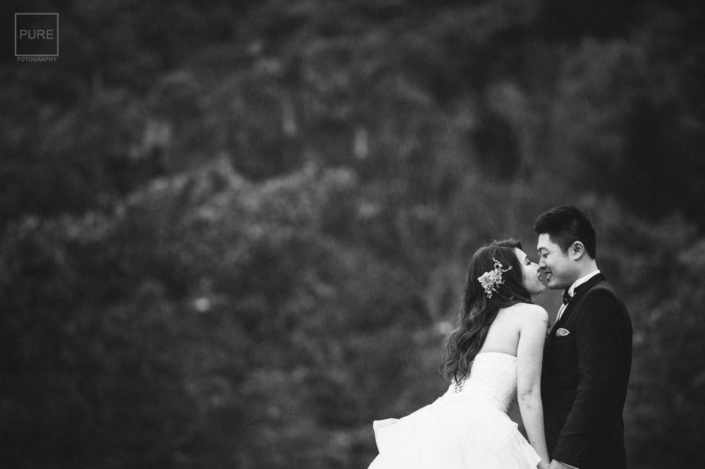 PUREFOTO_台灣自助婚紗攝影Prewedding_黑白婚紗照