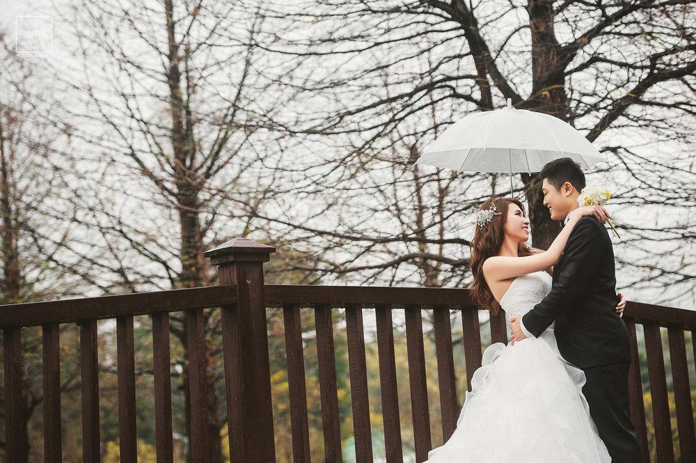 PUREFOTO_台灣自助婚紗攝影Prewedding_雨中婚紗