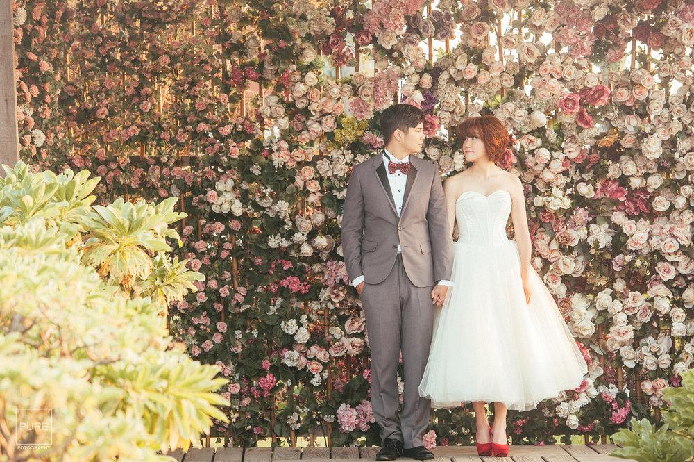 花牆婚紗拍攝