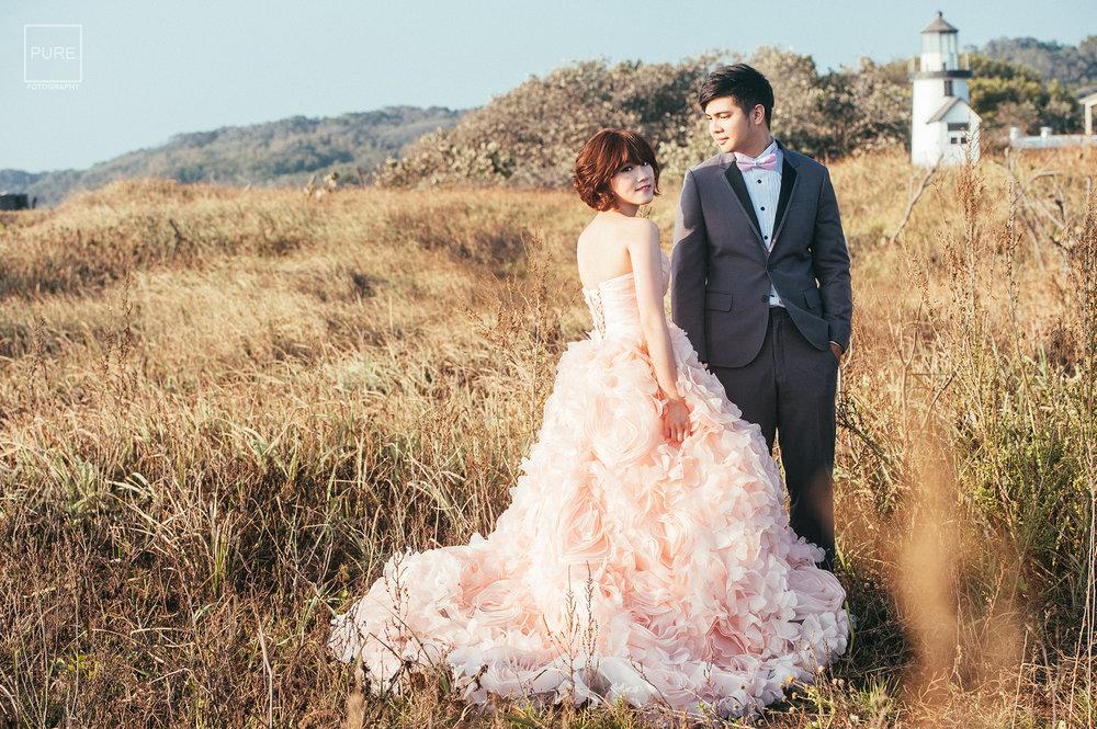 PUREFOTO_台灣自助婚紗攝影Prewedding_戶外自助婚紗拍攝
