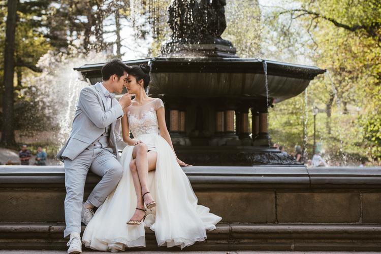 紐約婚紗影像-中央公園