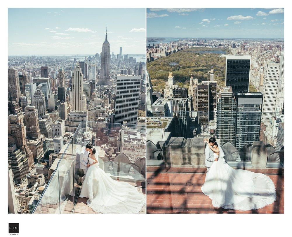 紐約海外婚紗洛克斐勒大樓