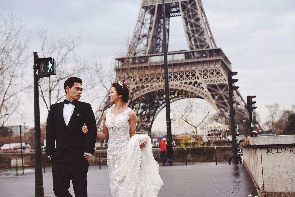 巴黎婚紗搶先看