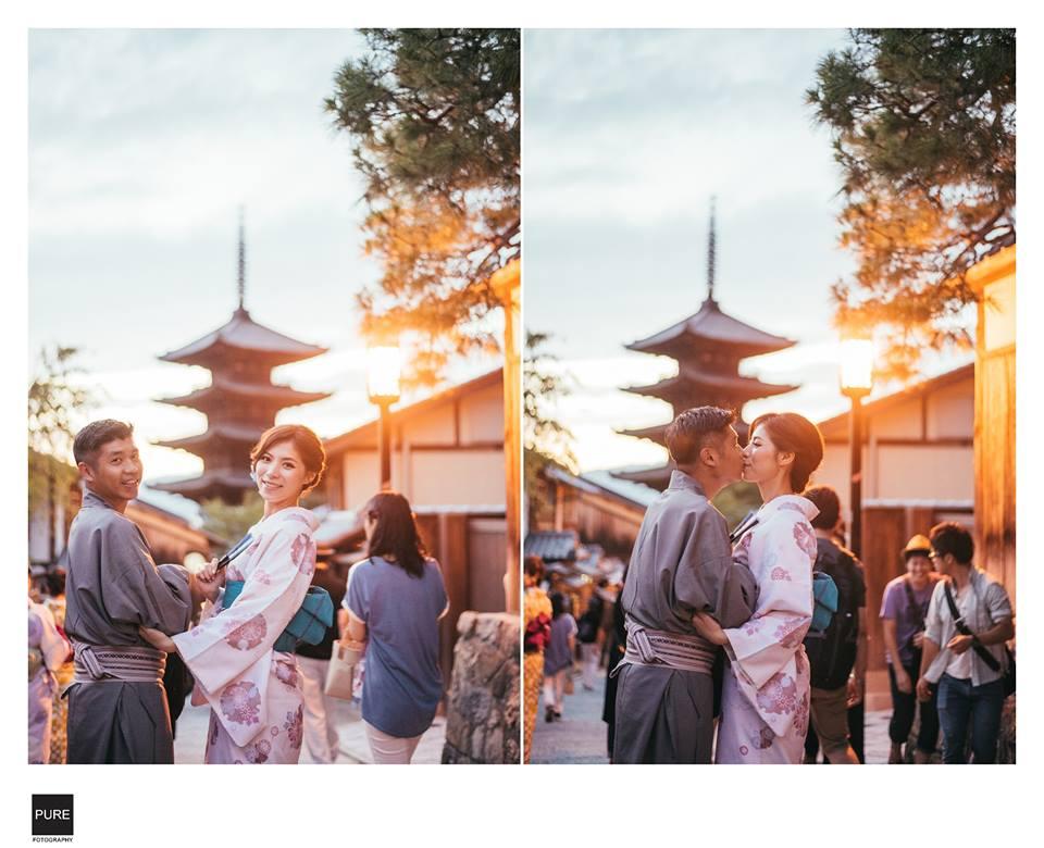 PUREFOTO_海外婚紗攝影Oversea_Prewedding_京都和服寫真