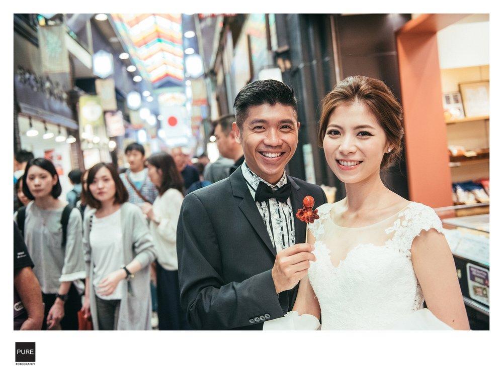 PUREFOTO_海外婚紗攝影Oversea_Prewedding_錦市場婚紗拍攝