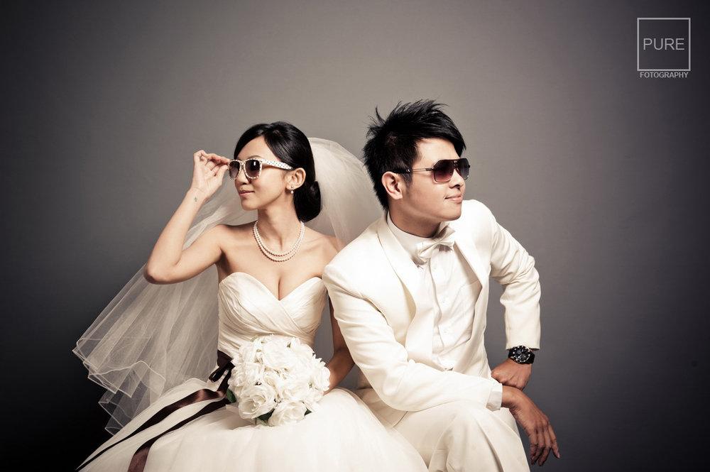 PUREFOTO_台灣自助婚紗攝影Prewedding_MonkeyJosh婚紗棚內拍攝