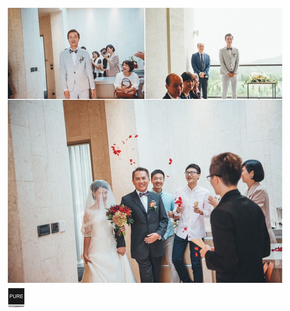 PURE婚禮攝影進場