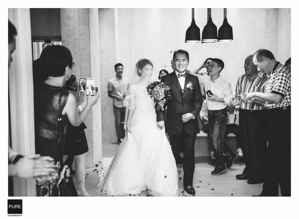 PUREFOTO_台灣婚禮平面攝影wedding_黑白婚禮攝影