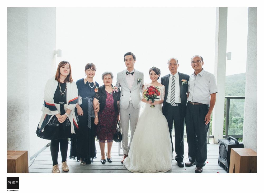 婚禮全家福