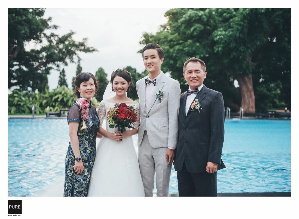婚禮全家福攝影