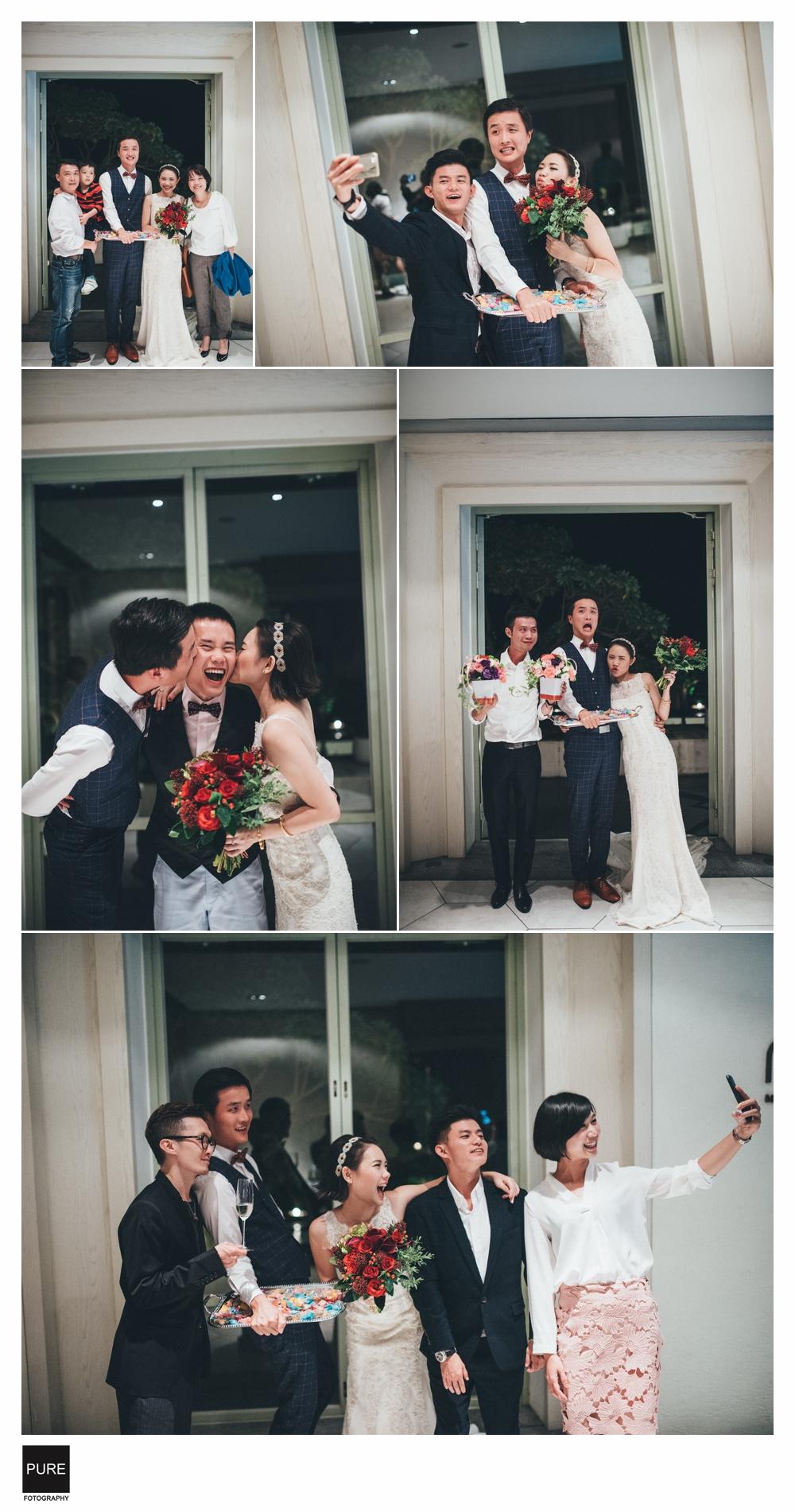婚禮攝影合照