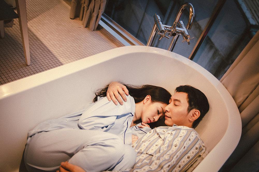 PUREFOTO_台灣自助婚紗攝影Prewedding_睡衣居家旅店寫真婚紗