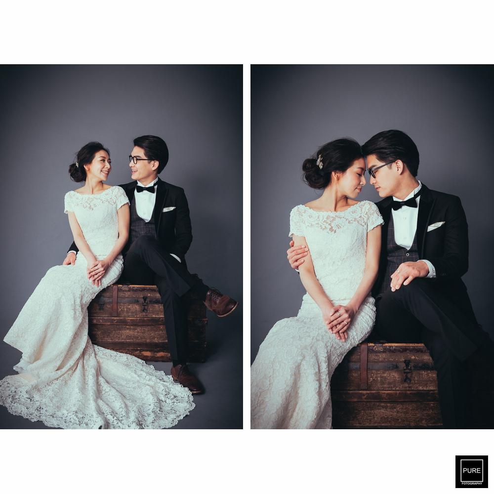 國父婚紗攝影棚拍攝