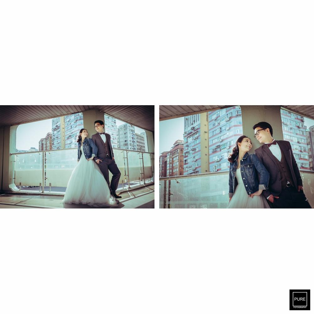台北街頭婚紗拍攝