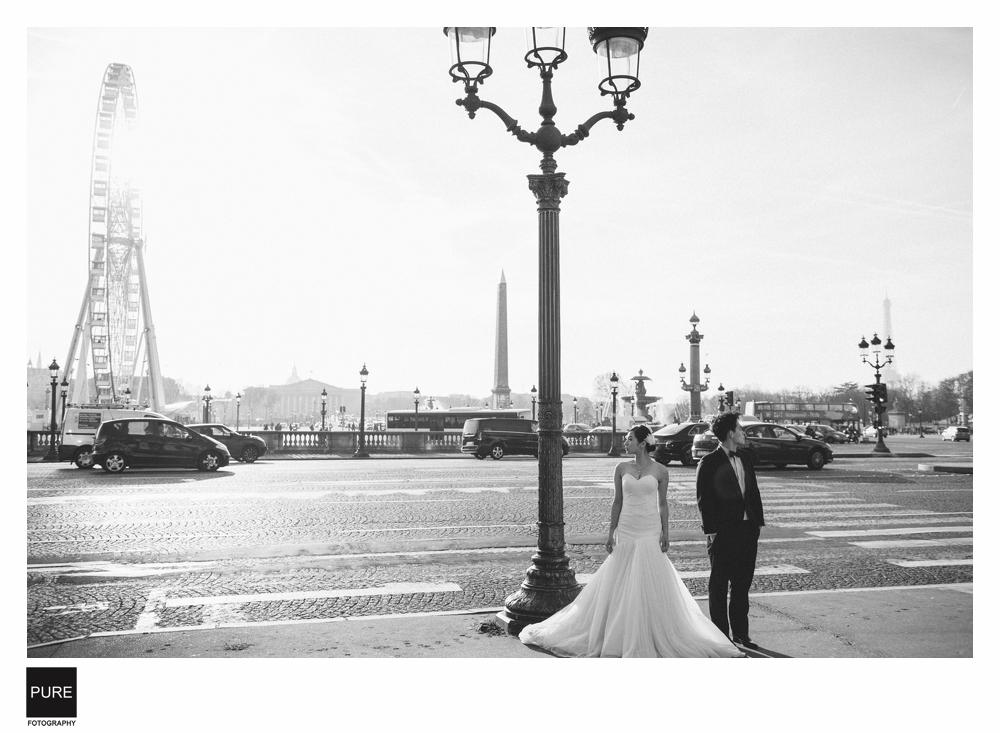 巴黎婚紗拍攝