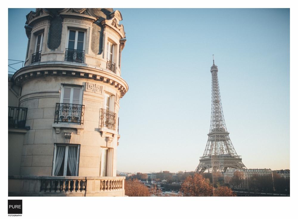 PUREFOTO_海外婚紗攝影Oversea_Prewedding_巴黎鐵塔婚紗景點