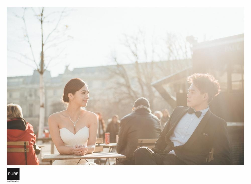 PUREFOTO_海外婚紗攝影Oversea_Prewedding_巴黎婚紗外景拍攝