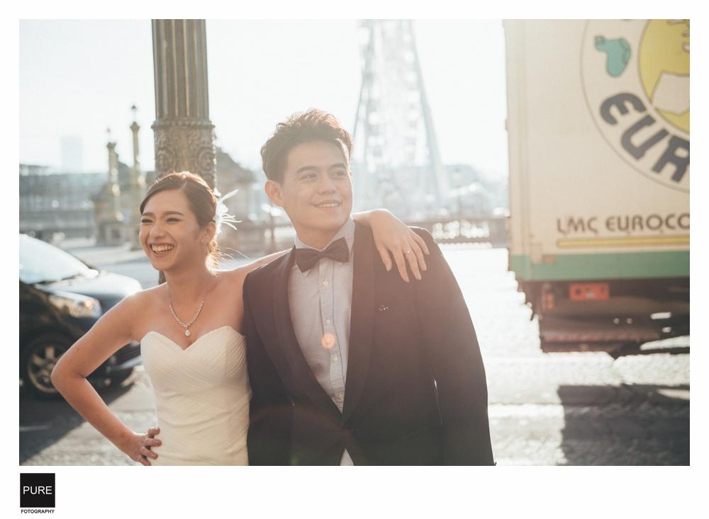 巴黎美式婚紗拍攝
