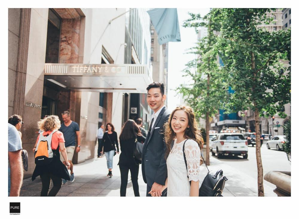 紐約婚紗-推薦purefoto第五大道景點