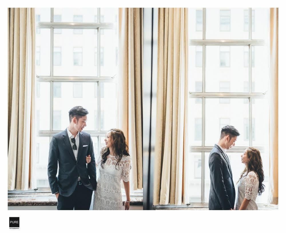 Tiffany海外紐約婚紗照