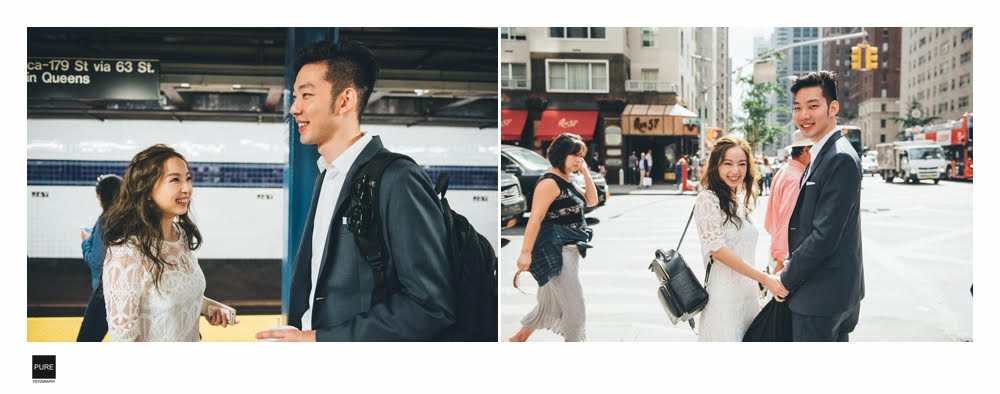 紐約婚紗拍攝景點推薦,紐約地鐵