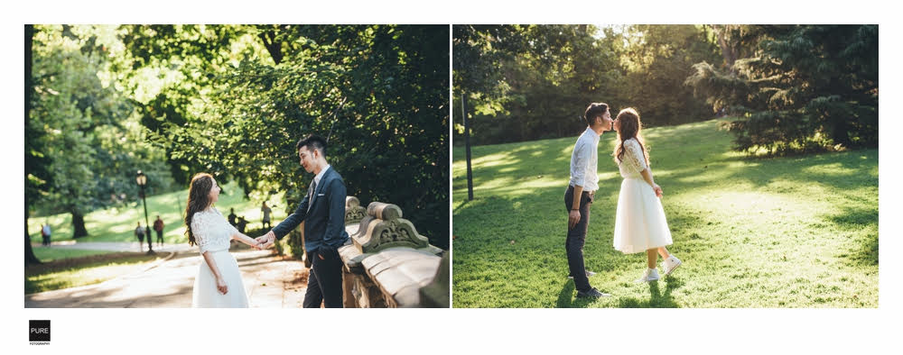 海外婚紗|紐約婚紗|中央公園|旅遊婚紗|寫真拍攝