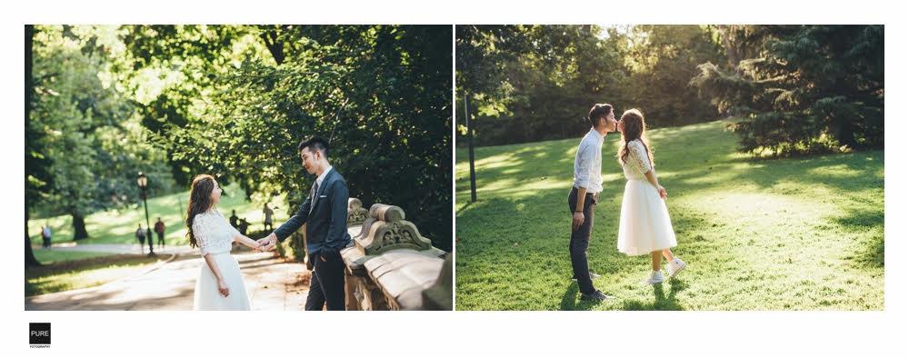 PUREFOTO_海外婚紗攝影Oversea_Prewedding_|紐約婚紗|中央公園|旅遊婚紗|寫真拍攝