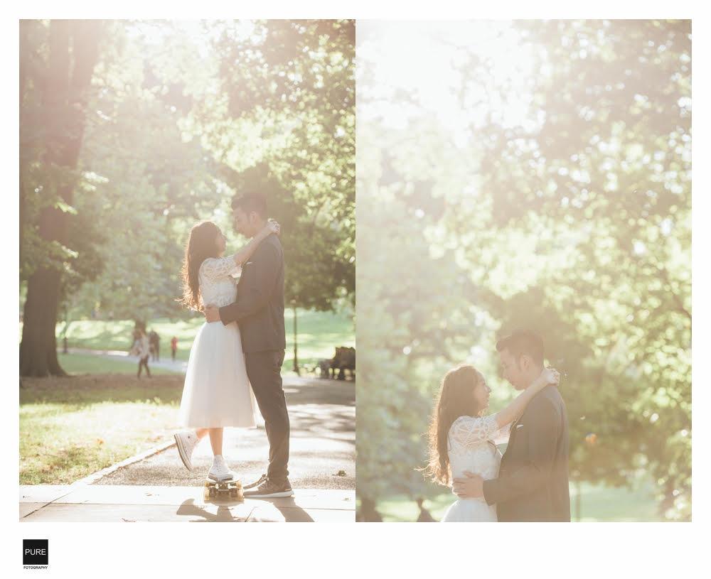 海外旅拍|紐約婚紗|婚紗動態側拍