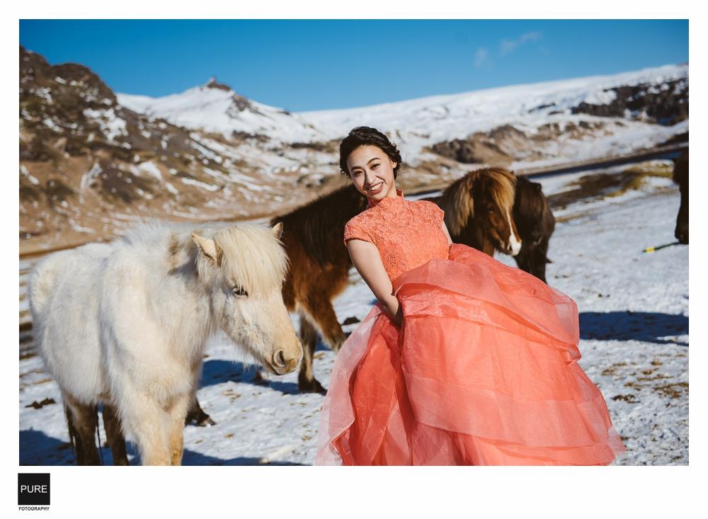冰島海外婚紗推薦工作室