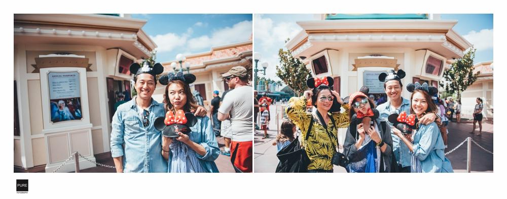 LA婚紗拍攝時,我們到Disney一起玩了一回:)
