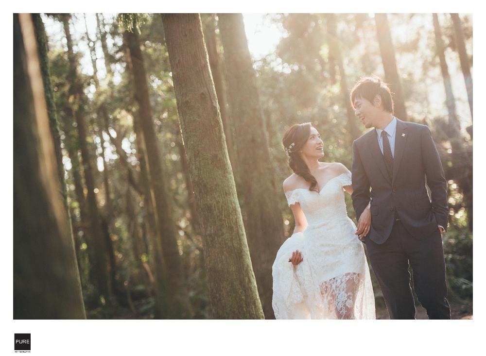 台北自助婚紗-黑森林
