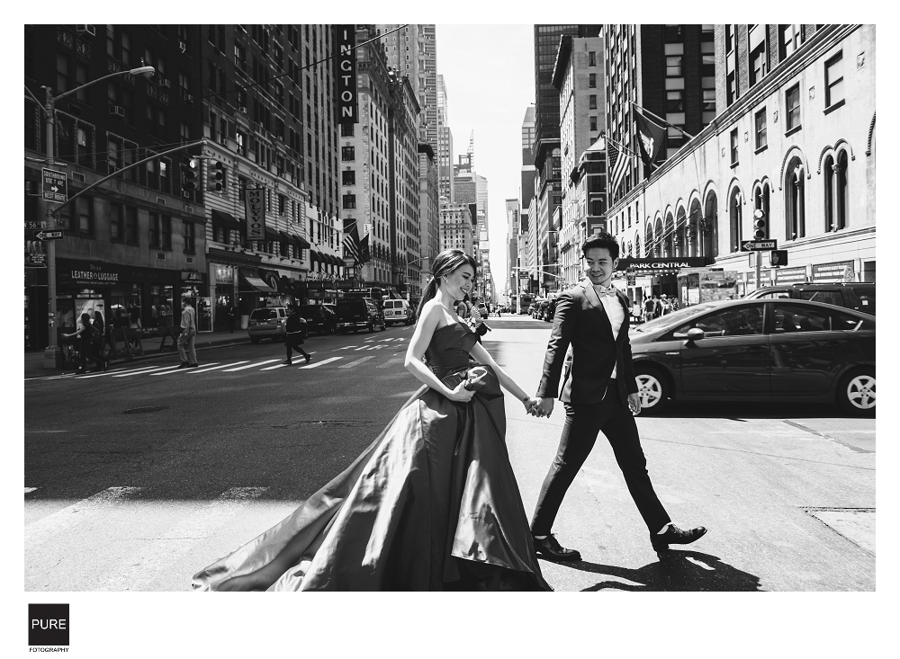 紐約婚紗-紐約海外婚紗