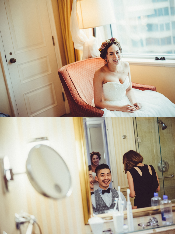 上海婚紗側拍照