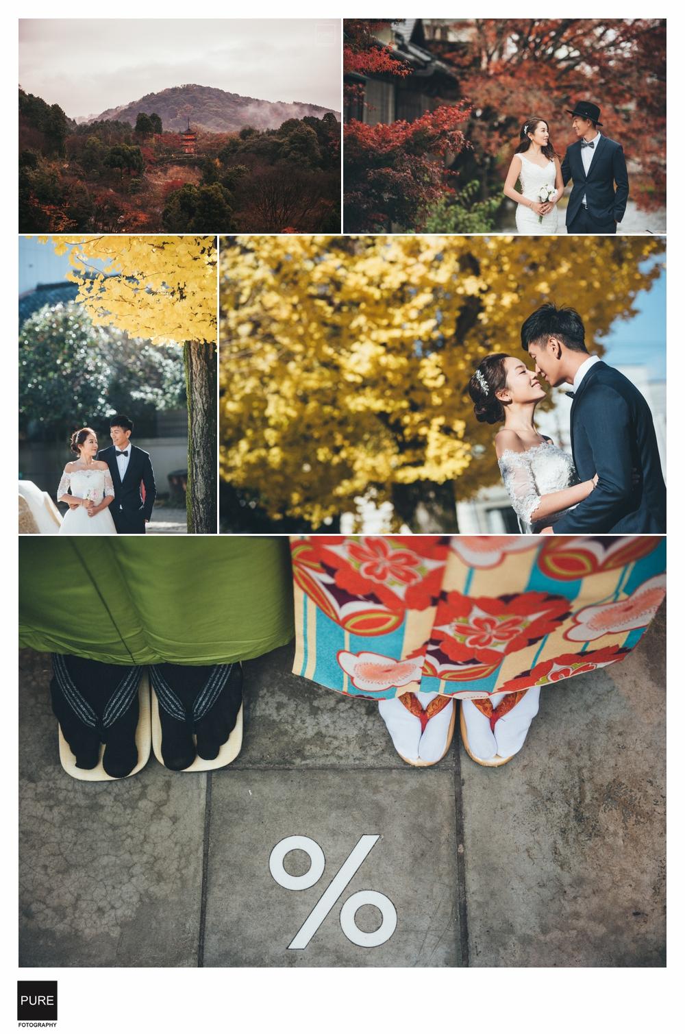 PUREFOTO_海外婚禮平面攝影Oversea_wedding_京都海外婚紗準備篇