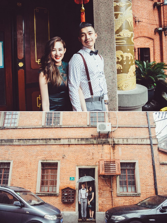 上海婚紗拍攝,婚紗復古男士造型