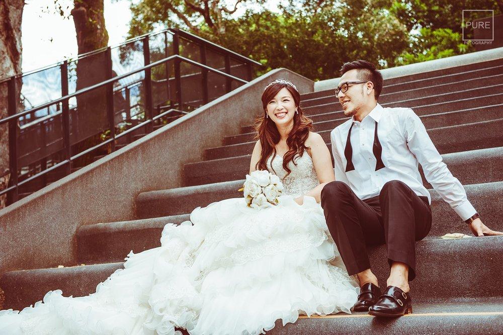 自助婚紗|新郎拍攝婚紗配件準備