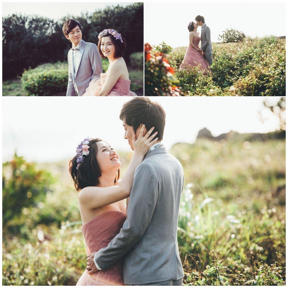 PUREFOTO_台灣自助婚紗攝影Prewedding_淡水莊園自然逆光溫暖婚紗拍攝
