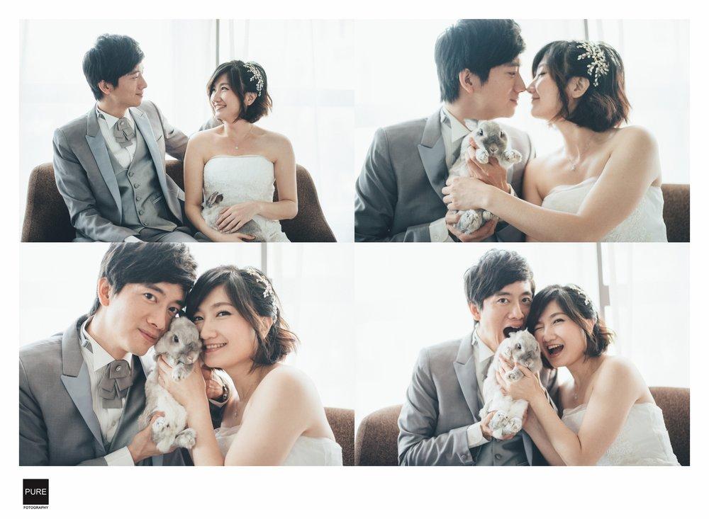 PUREFOTO_台灣自助婚紗攝影Prewedding_婚紗與寵物棚拍經典