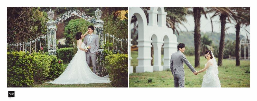 自然互動淡水莊園婚紗寫真