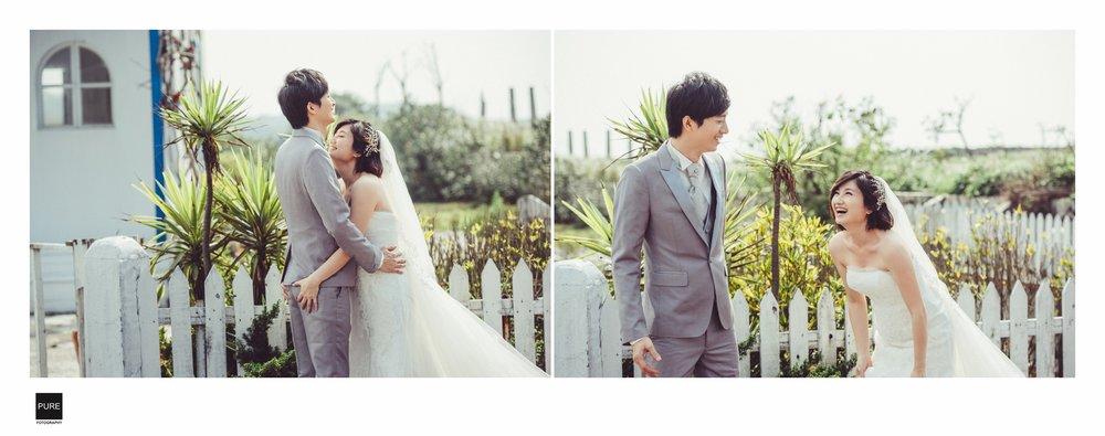 PUREFOTO_台灣自助婚紗攝影Prewedding_淡水莊園郵筒有趣婚紗