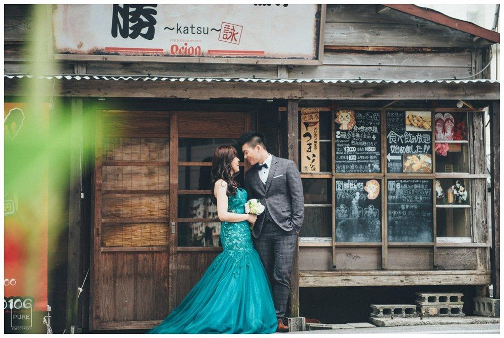 浮島通日式店家拍攝婚紗