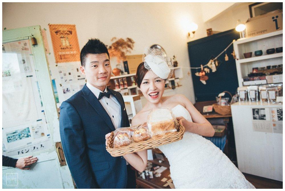 PUREFOTO_海外婚紗攝影Oversea_Prewedding_港川外人住宅麵包店婚紗拍攝